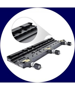 """BP2451565 -- Piastra Baader PAN 3""""/EQ clamp/370 mm"""