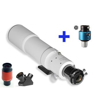 DS_TK80CalK -- Telescopio Solare Tecnosky/Daystar 80mm Calcio H