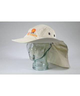 LT-0554900 -- Cappello da sole LUNT HAT con protezione collo