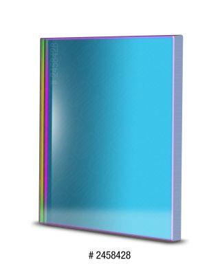 BP2458428 -- Baader Filtro H-beta a banda stretta da 8.5nm FWHM, quadrato da 50x50mm