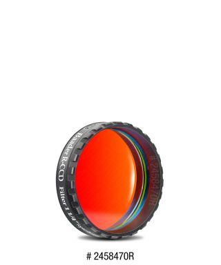 """Baader Filtro R (Rosso) da 1¼""""  (31.8mm), con cella a basso profilo"""