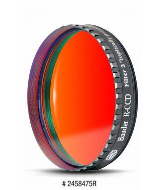 """BP2458475R -- Baader Filtro R (Rosso) da 2"""" (50.8mm), con cella a basso profilo"""