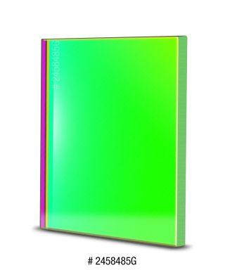 BP2458485G -- Baader Filtro G (Verde) quadrato da 50x50mm, senza cella
