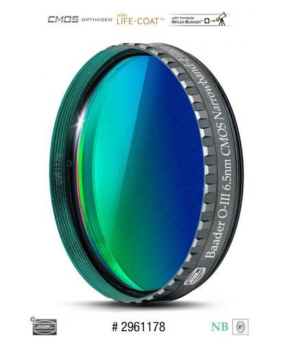 """BP2961178 -- Baader O-III 2"""" Narrowband-Filter (6.5nm) - CMOS-optimized"""
