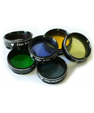 Set Filtri colorati TS Optics da 31,8mm - 6 pez -- TSFI16K
