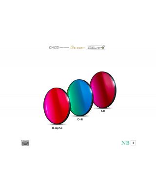 Baader 6.5nm Narrowband-Set Filtri 31mm - CMOS-optimized (H-alpha / O-III / S-II)