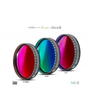 "Baader 6.5nm Narrowband-Set Filtri 2"" - CMOS-optimized (H-alpha / O-III / S-II)"