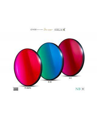 Baader 6.5nm Narrowband-Set Filtri 50,4mm - CMOS-optimized (H-alpha / O-III / S-II)