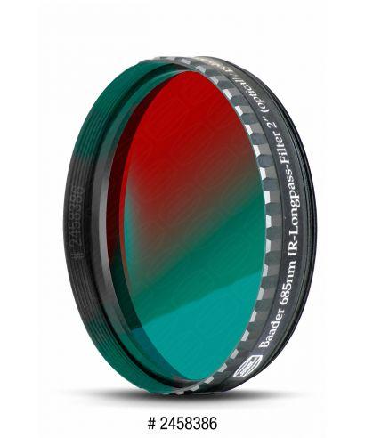 "BP2458386 -- Baader Filtro IR-Pass da 2"" (50.8mm) da 685nm"