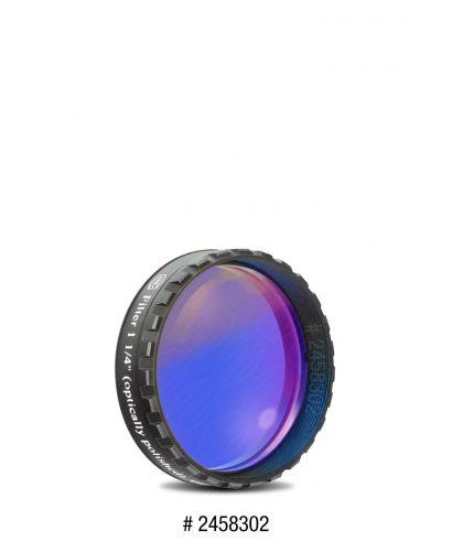 "BP2458302 -- Baader Filtro Blu scuro visuale da 1¼"" (31.8mm). 435nm"