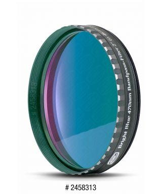 "Baader Filtro Blu visuale da 2"" (50.8mm). 470nm"