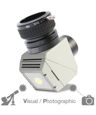 """BP2956500P -- Baader Prisma di Herschel Cool Ceramic da 2"""" (50.8mm) con serraggio ClickLock. VERSIONE FOTOGRAFICA"""