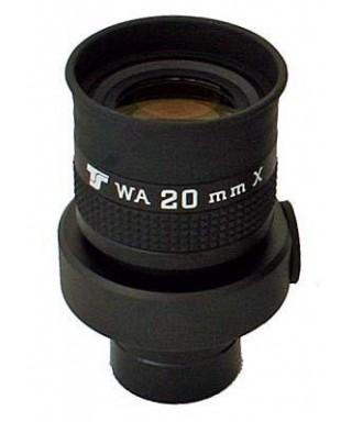 Oculare da 20mm con reticolo - ERFLE 70° - 31,8mm - illuminabile