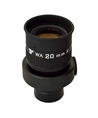 Oculare da 20mm con reticolo - ERFLE 70° - 31,8mm - illuminabile -- TSFK20