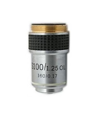 Obiettivo per microscopio biologico 100x -- TSMO100x