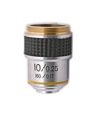 Obiettivo per microcopio biologico 10x