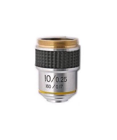 Obiettivo per microscopio biologico 10x -- TSMO10x