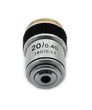 Obiettivo per microcopio biologico 20x