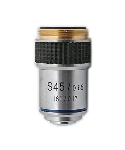 Obiettivo per microscopio biologico 45x -- TSMO45x