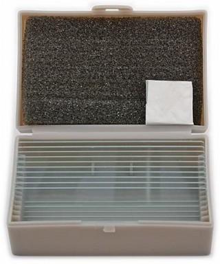 Vetrini per microscopi biologici (10 pz)