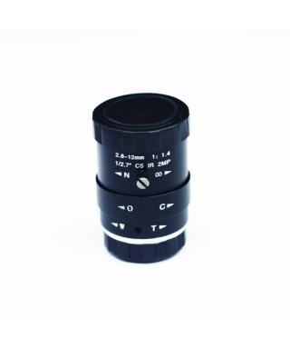 Obiettivo CS 2,8 millimetri-12 millimetri F1.4 -- CSlens2.8-12