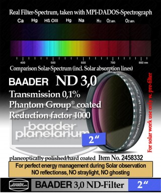 "Baader Filtro Neutro ND da 2"" (50.8mm) -- BP2458332"