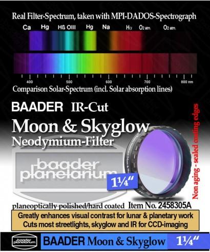 """Baader Filtro NEODYMIUM & IR-Cut da 1¼"""" (31.8mm) -- BP2458305A"""