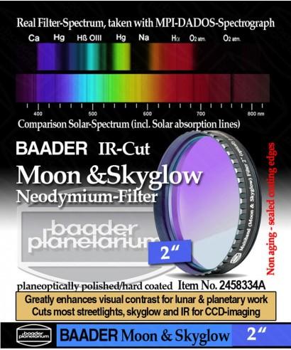 """Baader Filtro NEODYMIUM & IR-Cut da 2"""" (50.8mm) -- BP2458334A"""