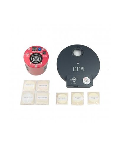 ASI1600MMP-K3 -- ZWO ASI 1600 MMP Cooled Camera EFW (7 x 36mm) 36mm LRGB 36mm Ha SII OIII