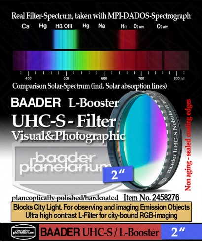 """BBaader Filtro UHC-S / L-Booster da 2"""" (50.8mm)-- BP2458276"""