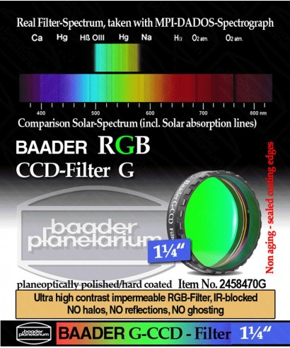 BP2458470G -- Baader Filtro Verde