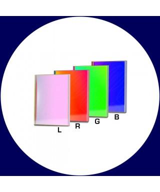 Baader Set di filtri LRGB parafocali quadrati da 50x50mm per CCD -- BP2458487