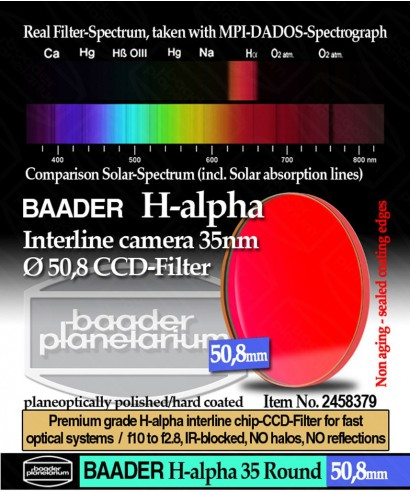 BP2458379 -- H-Alpha 35nm