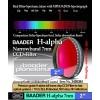 "Baader Filtro H-alpha a banda stretta da 7nm FWHM, diametro 2"" (50,8mm)"