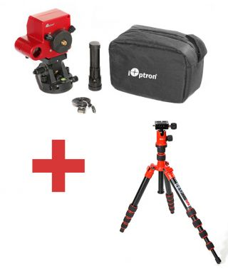 iOptron SkyTracker Pro kit Red-pod