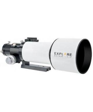 """ES-0112084 -- EXPLORE SCIENTIFIC ED APO 80mm f/6 FCD-1 Alu 2"""" R&P Focuser"""