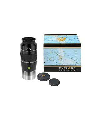 """ES-0218405 -- EXPLORE SCIENTIFIC 100° Ar Oculare 5,5mm (2"""")"""