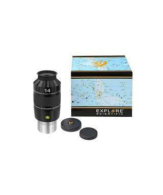 """ES-0218414 -- EXPLORE SCIENTIFIC 100° Ar Oculare 14mm (2"""")"""