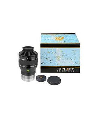 """ES-0218430 -- EXPLORE SCIENTIFIC 100° Ar oculare 30mm (3""""/76,2mm)"""
