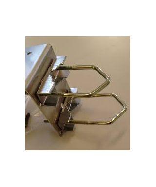 Staffa di montaggio AAG e anemometro con Ganci U