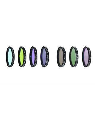 """LRGBSHO-2 -- Optolong Set filtri LRGB+HA 7nm, SII 6.5nm, OIII 6.5nm da 2"""""""
