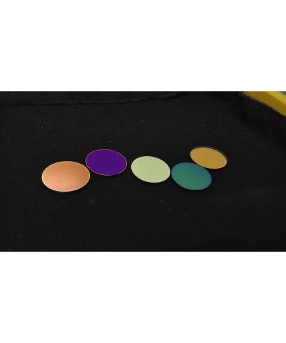 Optolong Filtri fotometrici UBVRI 36 mm non montati