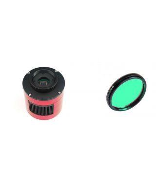 ZWO ASI385MC USB3.0 Cooled Color Astronomy Camera L-PRO 2″ Optolong
