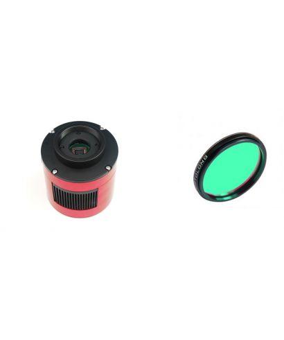 ZWO ASI385MC USB3.0 Cooled Color Astronomy Camera L-PRO 2″