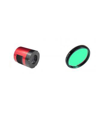 ZWO ASI 071 MC Color Pro USB3.0 Cooled 256MB Buffer L-PRO 2″ Optolong