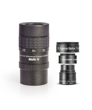BP2454827 -- Baader Oculare Zoom Hyperon MARK IV 8-24mm + Hyperion Barlow