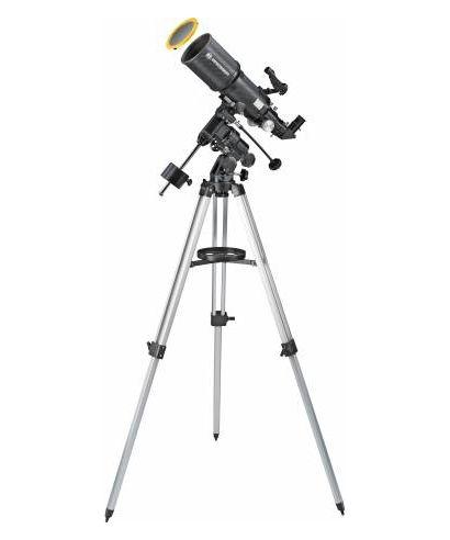 TELESCOPIO BRESSER POLARIS 102/460 EQ3 CON FILTRO SOLARE -- 4602460