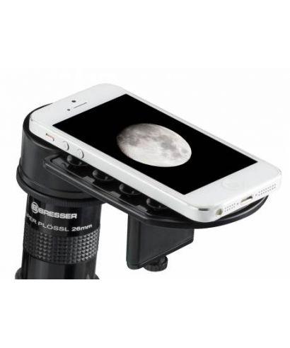 4914914 -- ADATTATORE PER SMARTPHONE BRESSER DELUXE PER TELESCOPI E MICROSCOPI