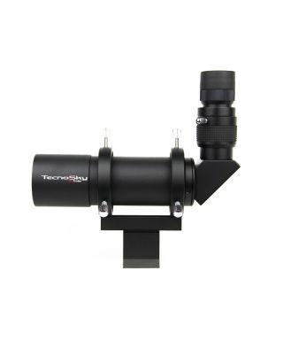 Cercatore Tecnosky 8x50 angolato e illuminato --TK_850ang