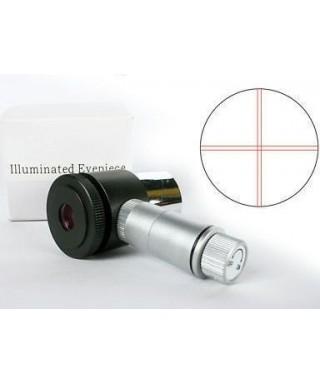 Oculare  con reticolo illuminato da 12,5mm